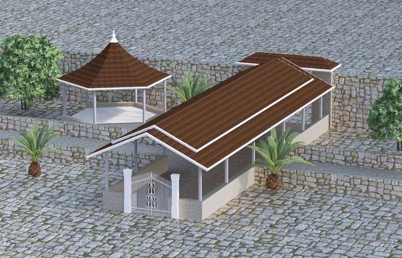 پوشش سقف مدرن یا سنتی