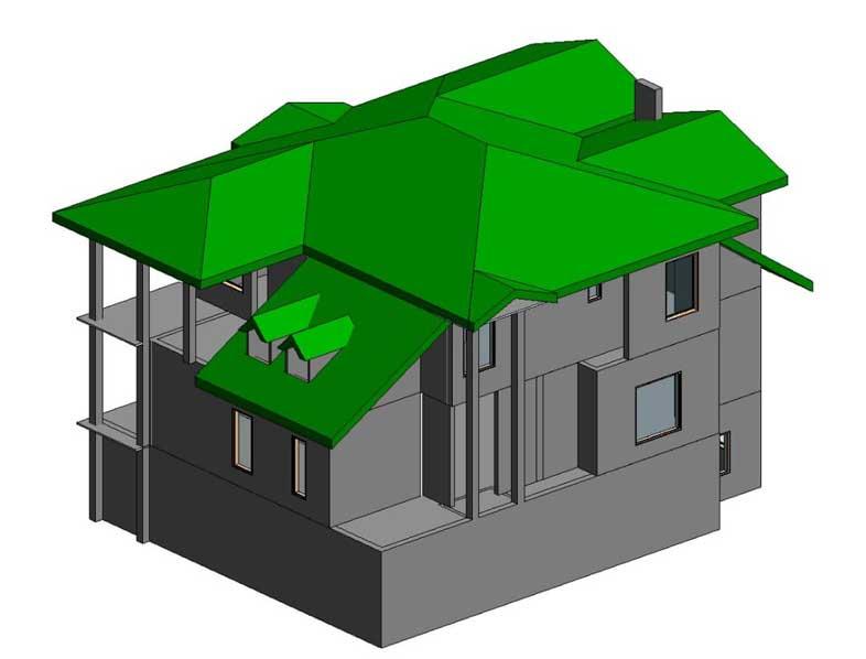 اجرا و طراحی سقف ویلا