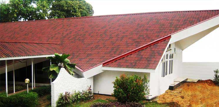 انواع سقف شیب دار تخت